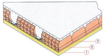 Isolamento termico isolamento delle pareti for Tessuto isolante termico