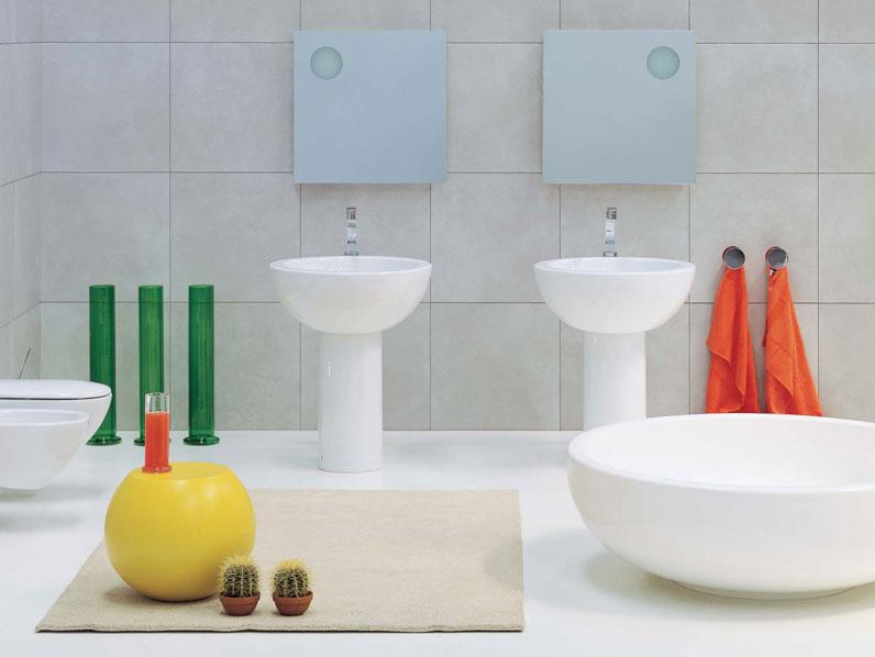 ceramica flaminia continua il proprio percorso di ricerca sulle pi contemporanee espressioni del materiale ceramico questanno in occasione de i saloni