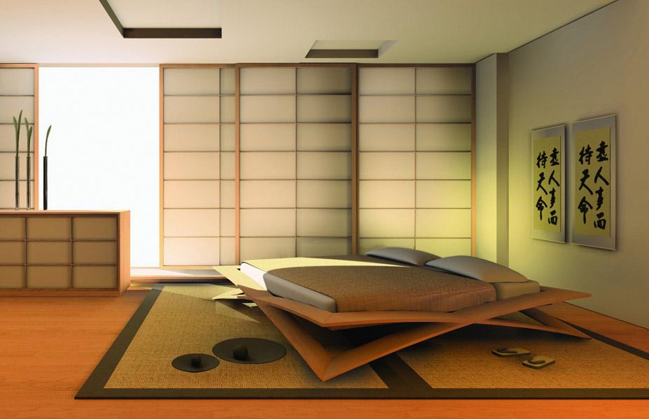 Letti giapponesi per cinius for Case in stile giapponese