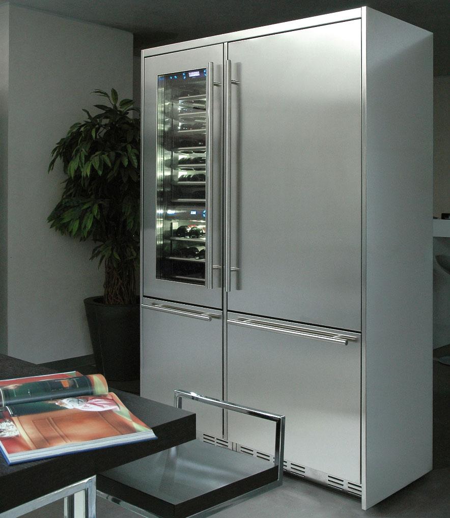Professional la nuova serie di frigoriferi fhiaba for Frigoriferi profondita