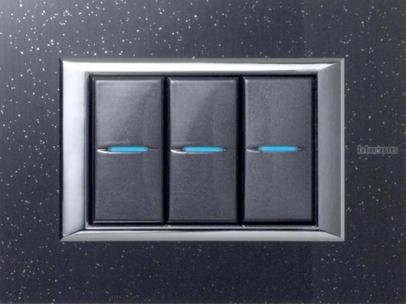 Axolute e graniti fiandre l estetica dell impianto - Interruttori elettrici vimar ...