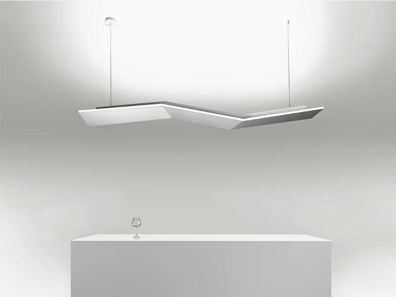 L 39 illuminazione di lucitalia for Lampade interni design