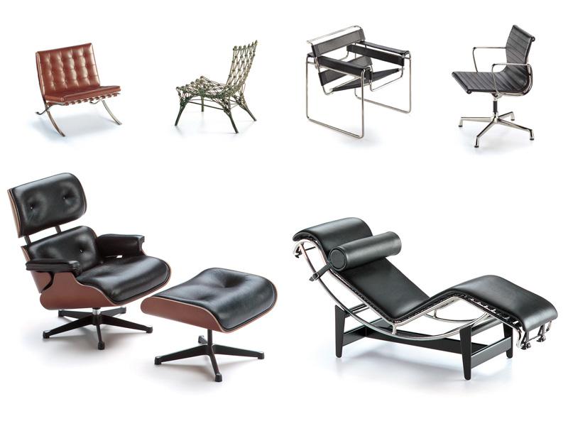 Dimensions of design 100 classiche sedute - Poltrone famose design ...