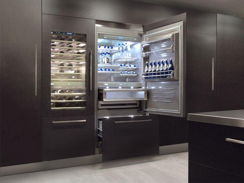 La nuova linea di frigoriferi di fhiaba for Misure frigoriferi