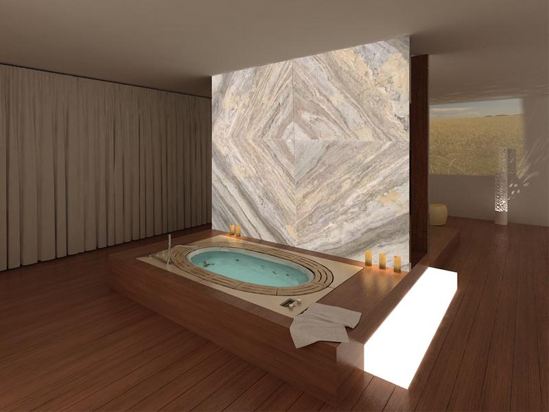 39 luxury spa module 39 al prossimo spa design - Alternativa piastrelle bagno ...