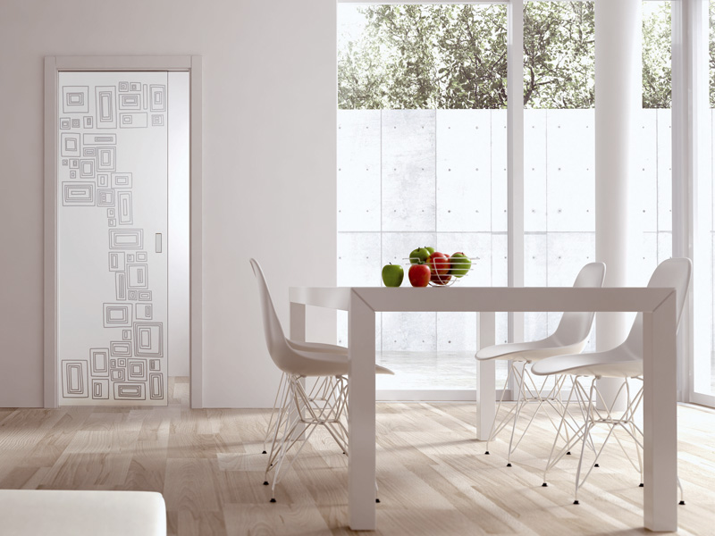 decorazioni per porte in legno: credenza design ante lavorate ... - Disegni Moderni Per Porte In Vetro