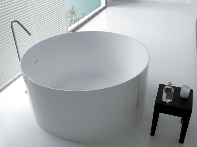 Vasca Da Bagno Rotonda: On sale kkr freestanding angolo vasca bagno piccola da.