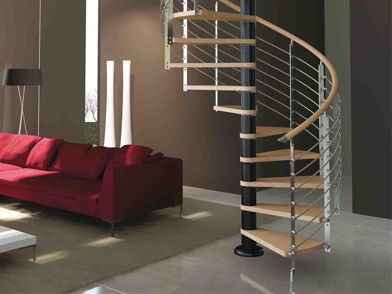 Rintal presenta la nuova scala a chiocciola trio for Rintal scale prezzi