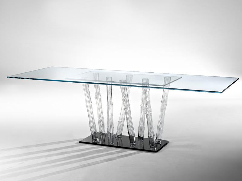 I nuovi tavoli in cristallo di reflex for Tavoli in cristallo