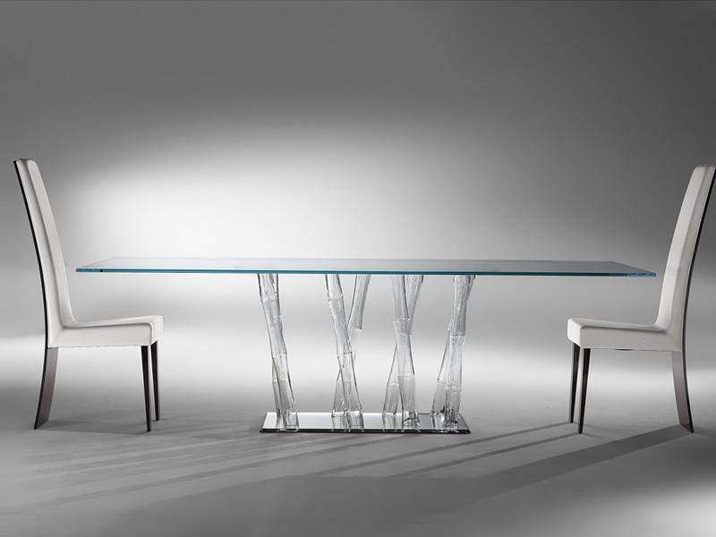 I nuovi tavoli in cristallo di reflex - Tavolo cristallo design ...