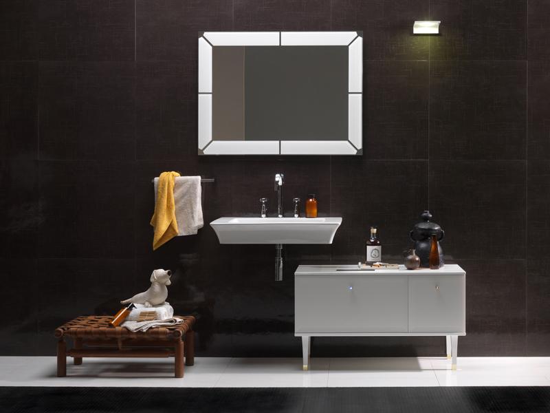 Il bagno vintage di regia for Accessori bagno vintage