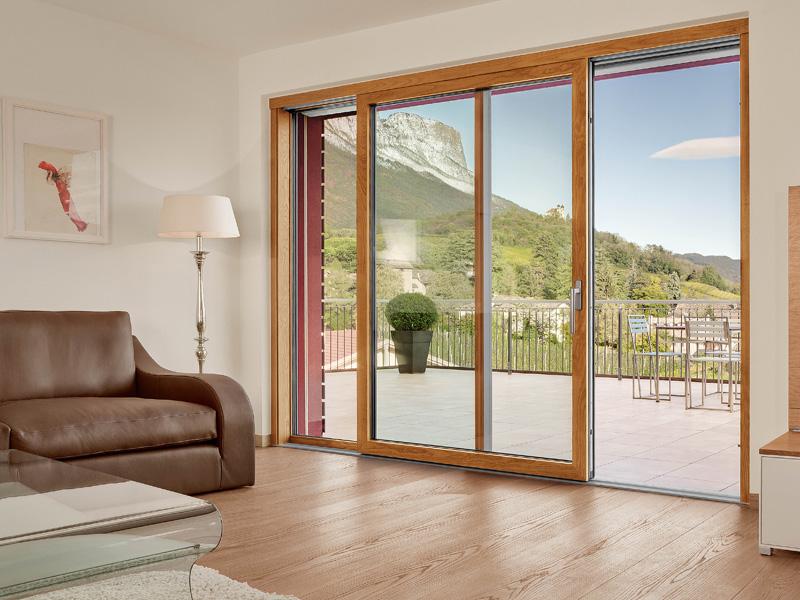 Nuovo sistema di finestre lignatec di finstral - Porte e finestre pvc ...