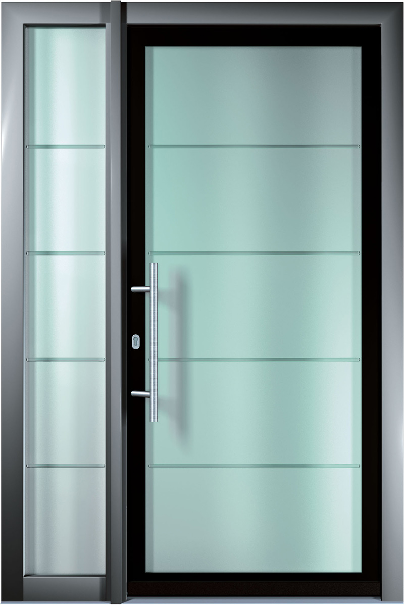 Sistemi finstral in una villa residenziale di vipiteno for Vidrios para puertas principales