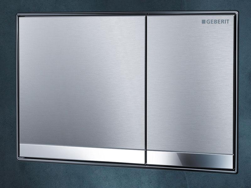 Geberit sigma60 risparmiare acqua con stile for Cassetta wc esterna sottile