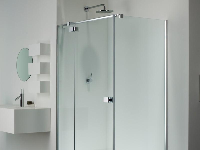 Serie e lite di provex il box doccia senza telaio - Doccia senza piatto doccia ...