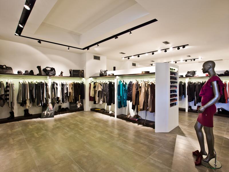 lucifero 39 s illumina il negozio di abbigliamento uso esterno