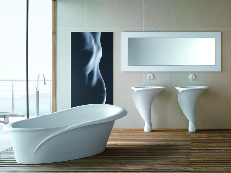 Mastella design presenta kalla e kallashort - Quadri in bagno ...