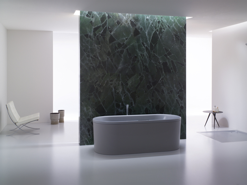 Pura natura le vasche da bagno colorate di kaldewei for Sala da bagno design