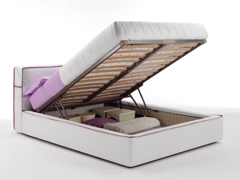 Guadalupe il letto contenitore firmato milano bedding - Rete a doghe per letto contenitore ...