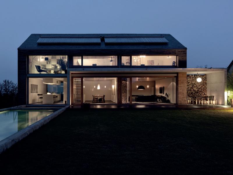 La cucina come centro dell 39 architettura moderna for Case architettura moderna
