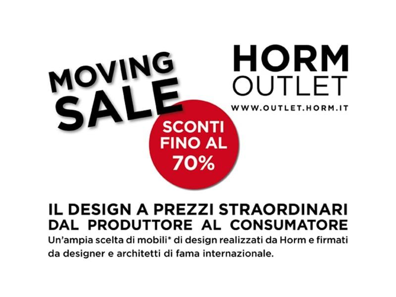 Il design di horm a prezzi straordinari for Mobili firmati outlet