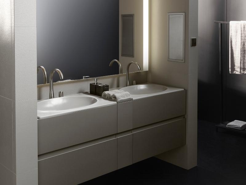Mensole per bagno in legno: oltre idee su mensole da bagno ...