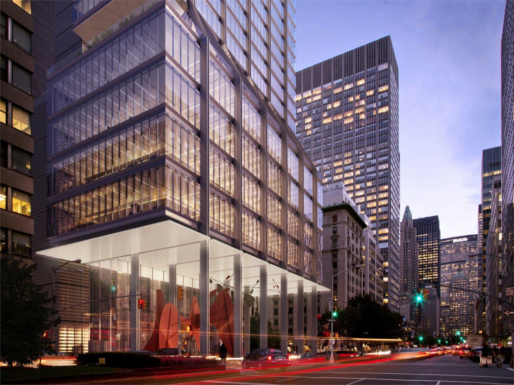 Norman foster la nuova 425 park avenue tower a new york for New york architettura contemporanea