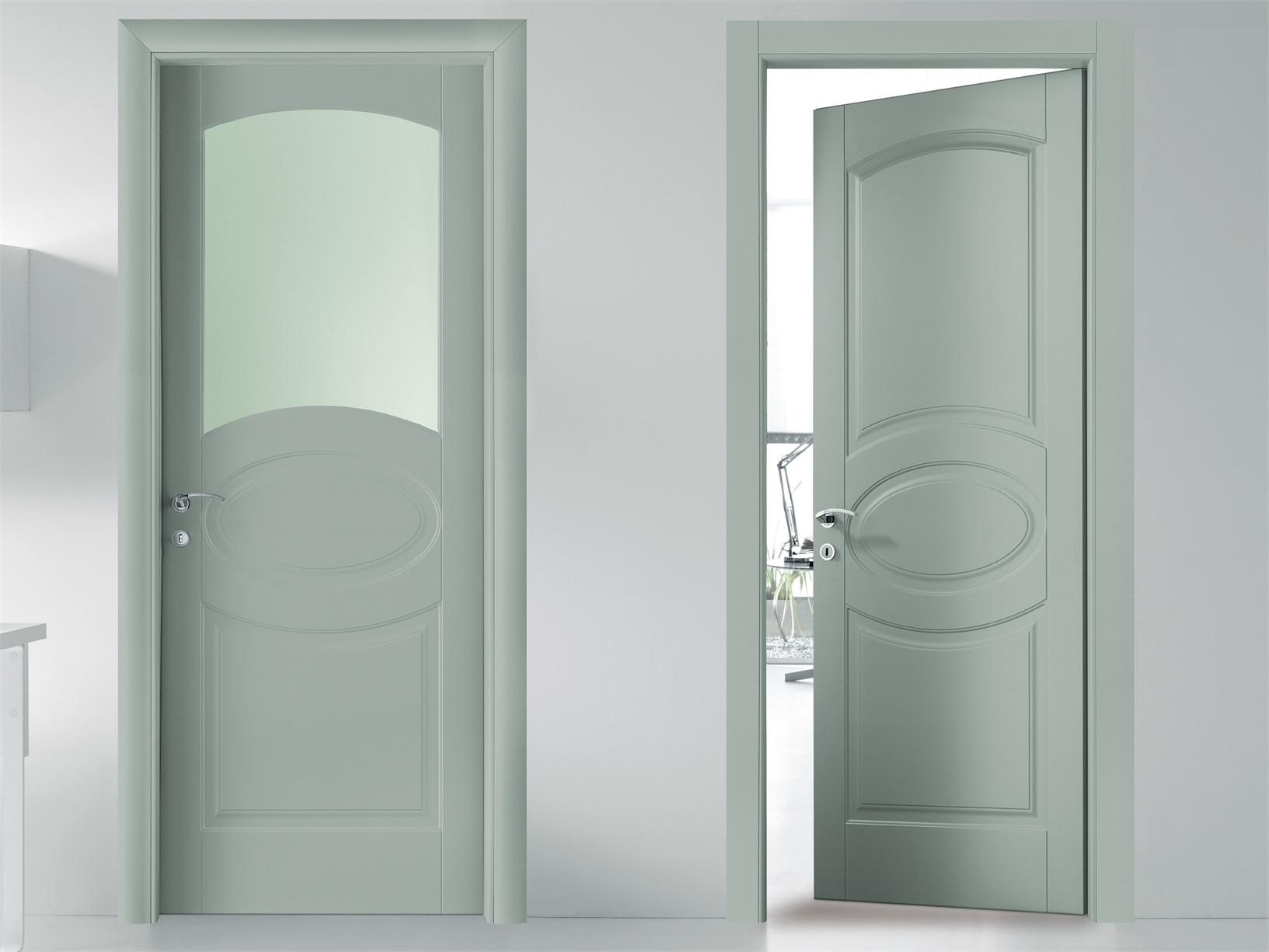 Stile classico e lineare per bertolotto porte - Porte laccate avorio ...