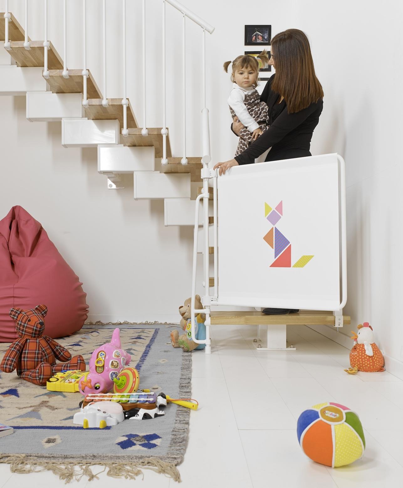 Scale e bambini le soluzioni by fontanot for Cancelletti per bambini per scale