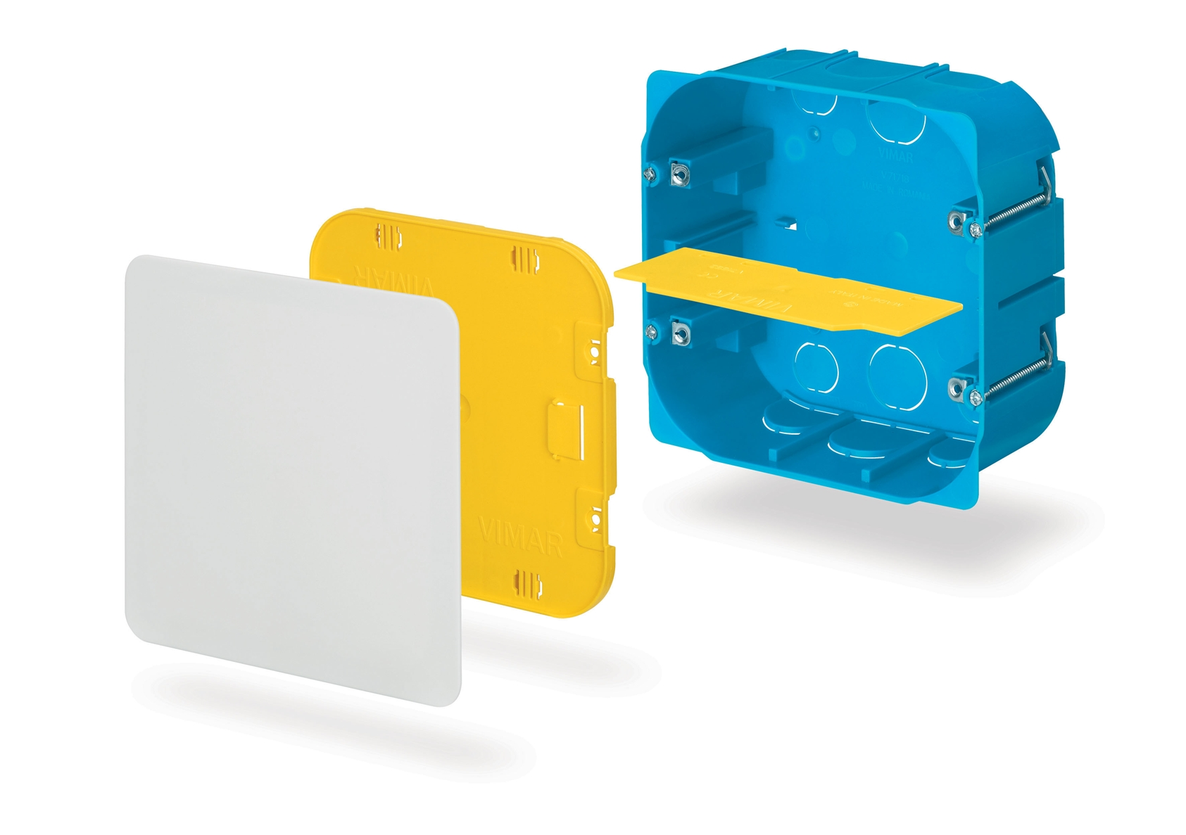 Isobox di vimar la nuova gamma di scatole da incasso - Porta coperchi da muro ...