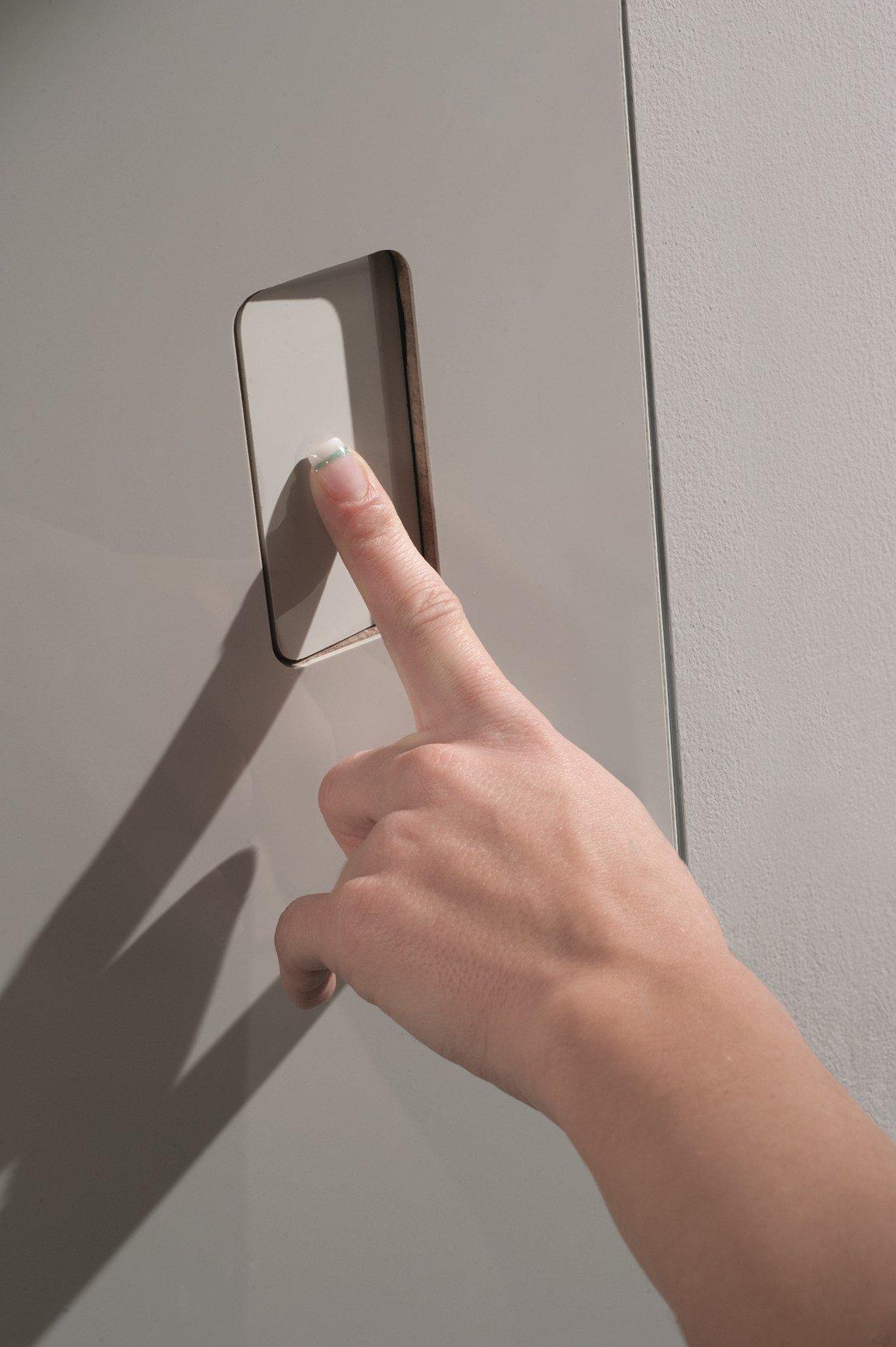 Secret push la nuova maniglia invisibile barausse for Maniglie design