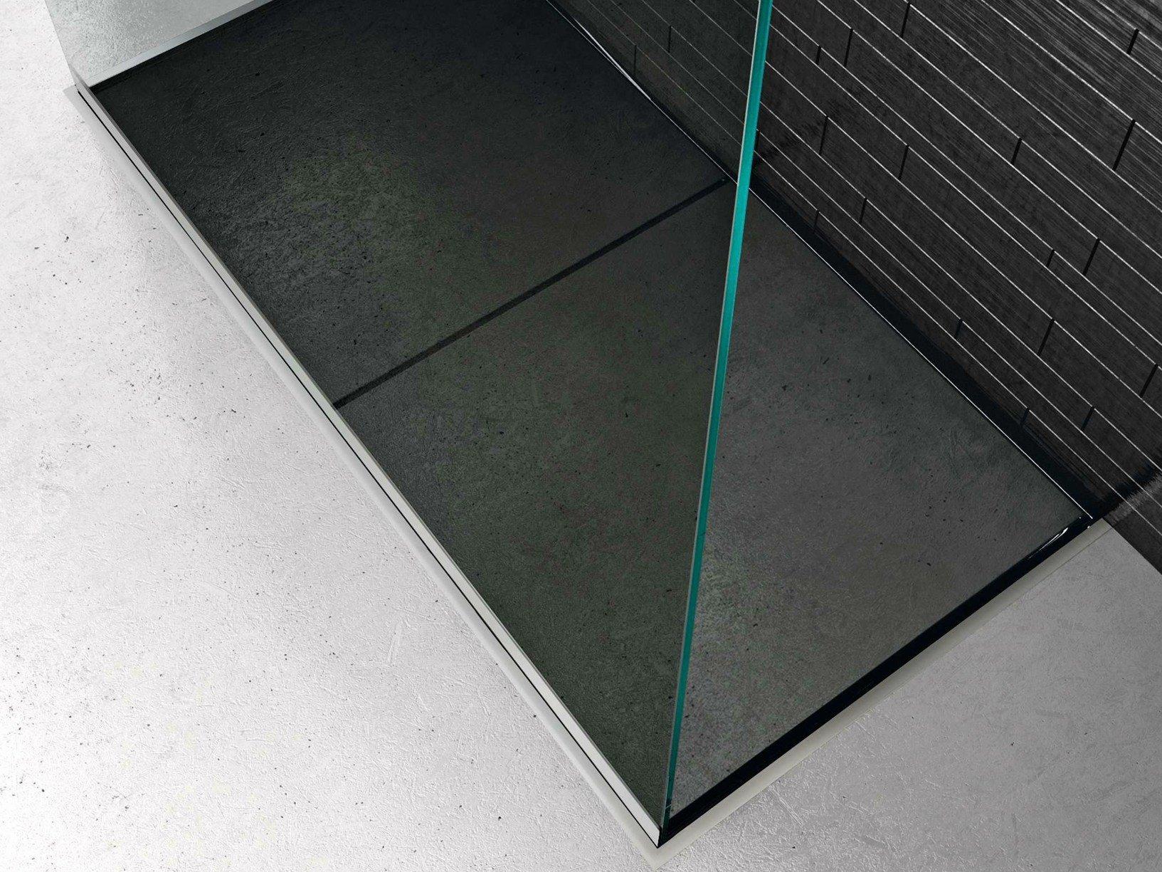 Space il sistema doccia filopavimento di makro - Rivestire piatto doccia ...