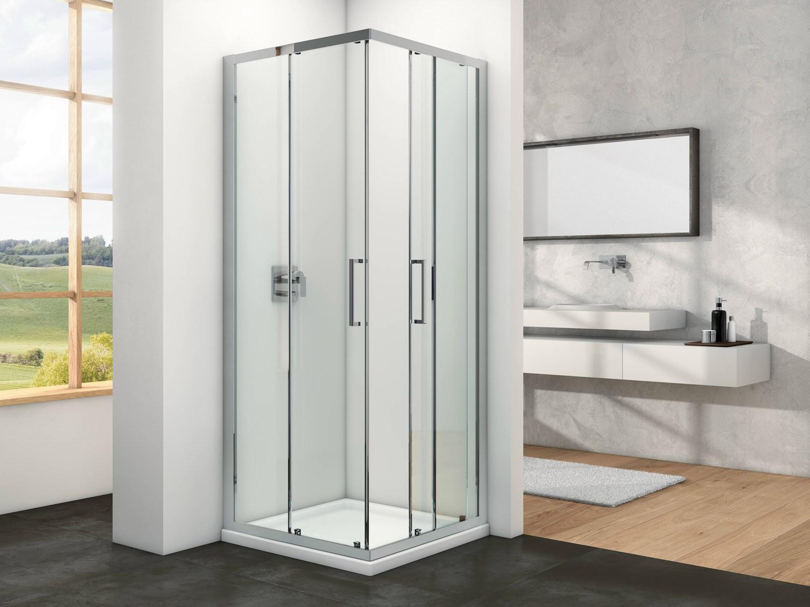 Design minimalista per i box doccia provex - Box doccia design minimale ...