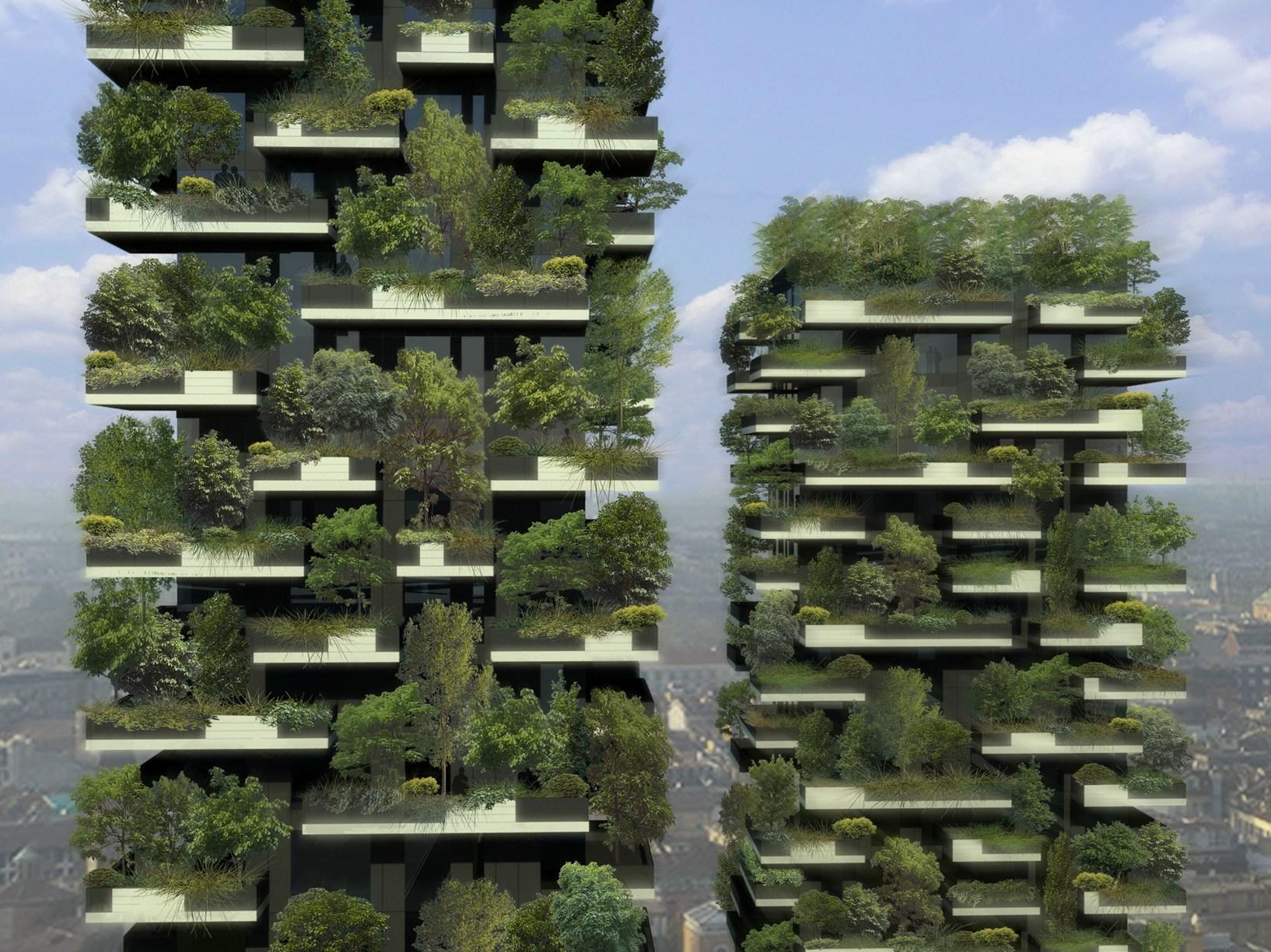 Tecnologia geberit a milano per il 39 bosco verticale 39 - Via porta nuova milano ...