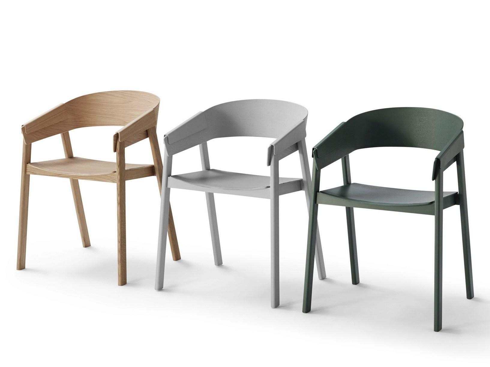 cover la nuova sedia in legno di muuto. Black Bedroom Furniture Sets. Home Design Ideas