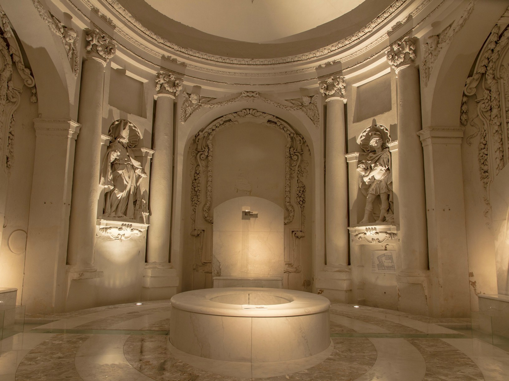 il bagno immaginato by henraux per gentile concessione di platek light