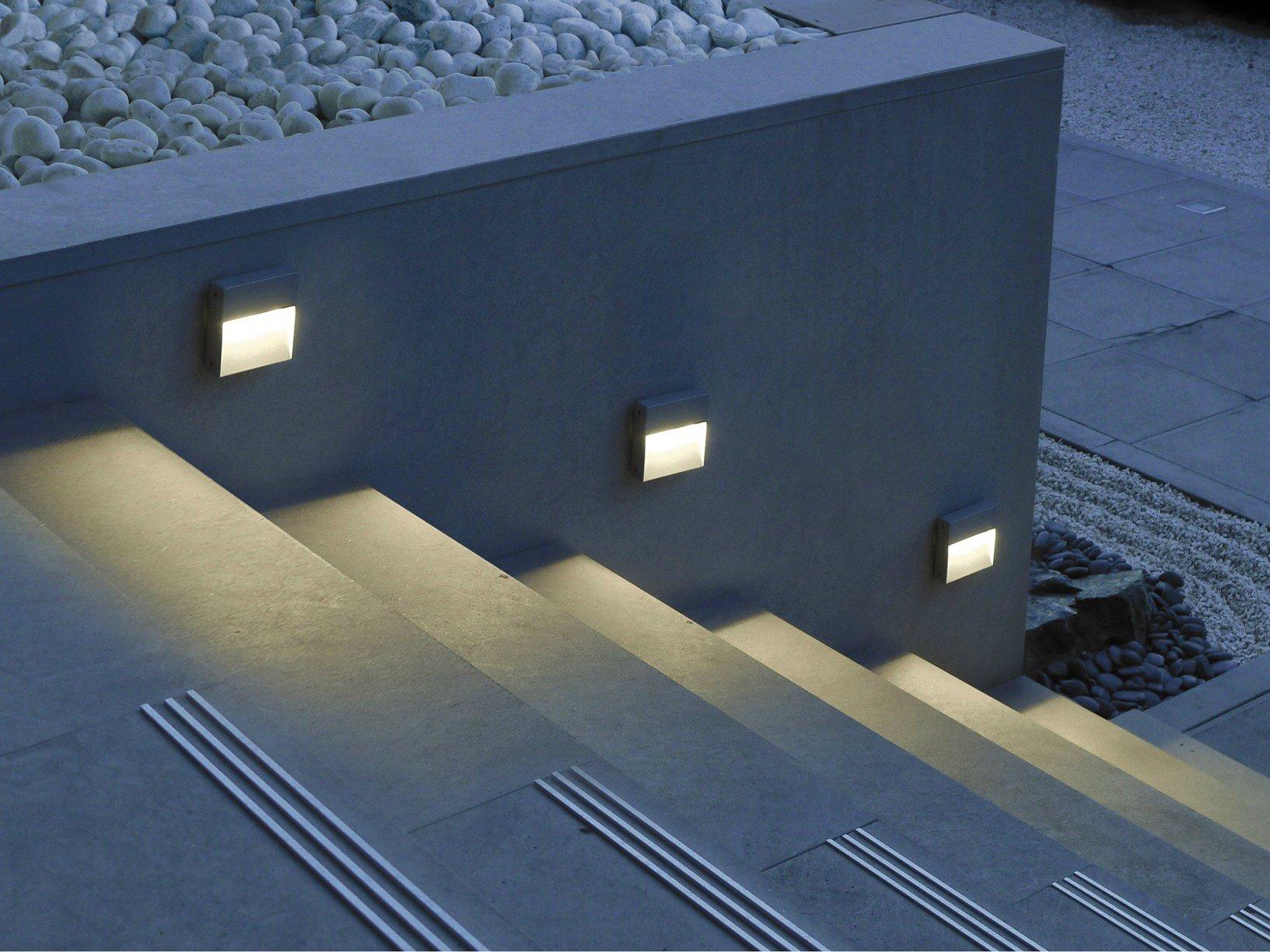 La soluzione simes per illuminare e valorizzare le for Lampade per esterno