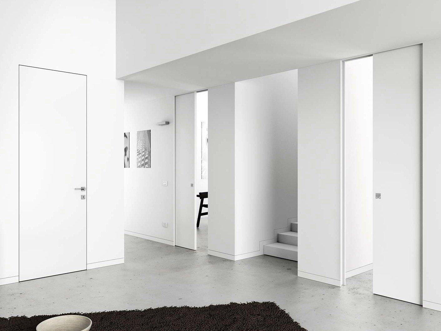 Estetica minimalista per syntesis collection di eclisse - Porte invisibili scorrevoli ...