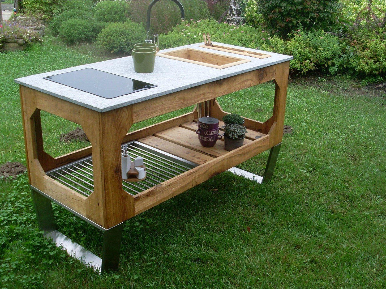 Lgtek outdoor arricchisce la gamma di cucine da esterno window - Cucina in muratura da esterno ...