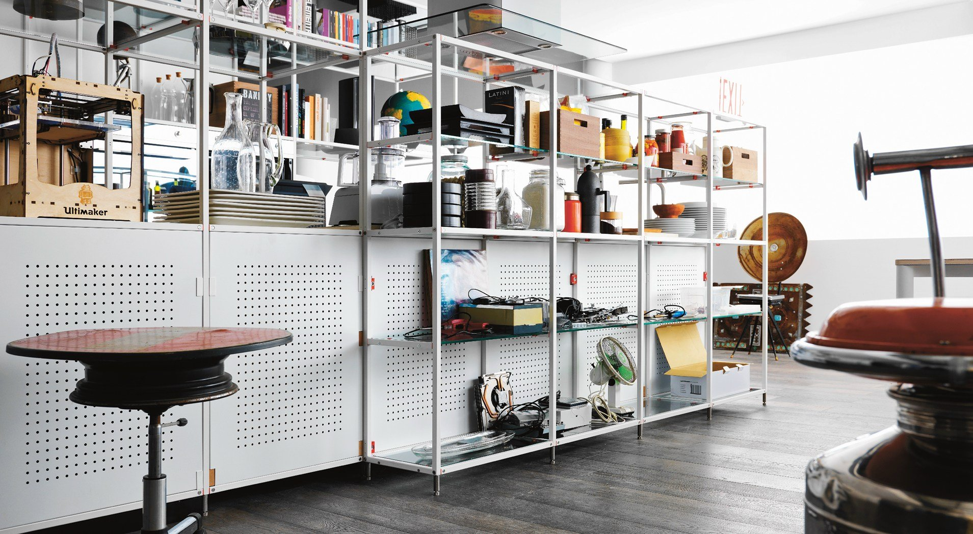 Beautiful meccanica di demode engineered by valcucine with - Cucine astra opinioni ...