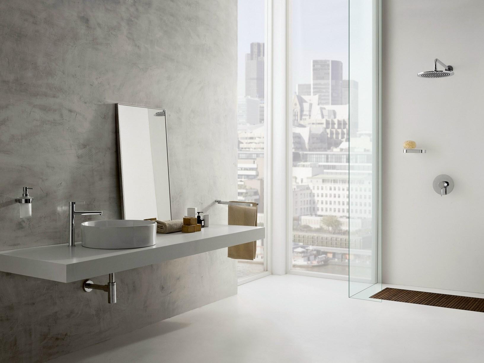 Terra la proposta graff al salone del bagno - Dimensione bagno ...