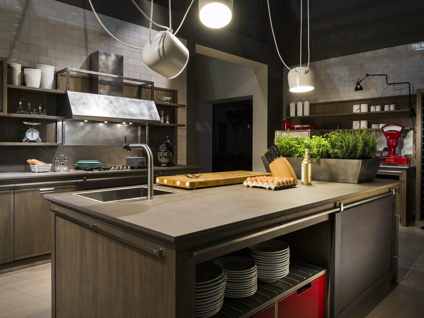 OTTOCENTO PORTA LO STILE POST INDUSTRIALE NELL'AMBIENTE CUCINA #8DA328 1633 1225 Arredo Cucina Stile Industriale