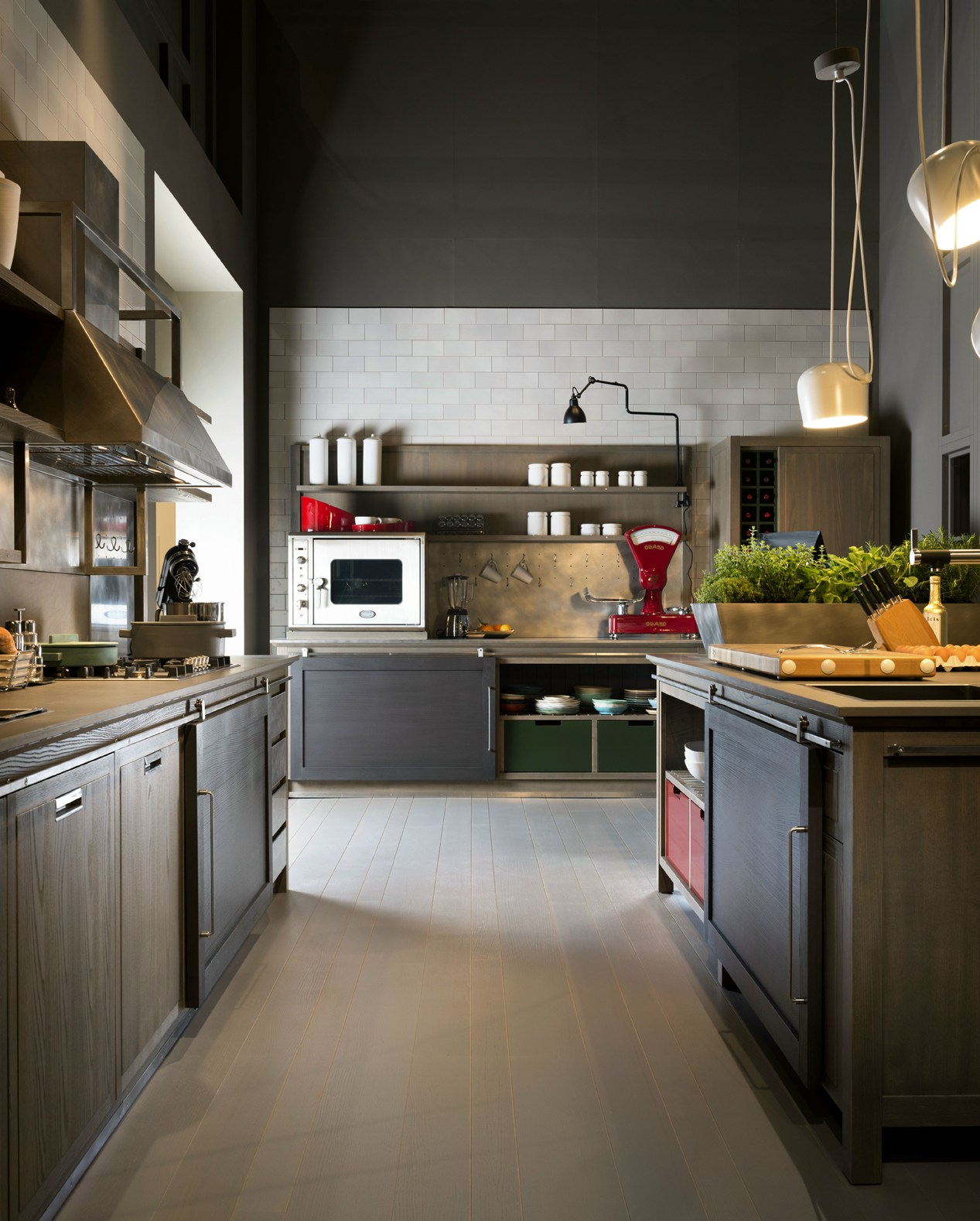 Ottocento Stile Contemporaneo: Industrial Chic Design Enrico  #A66B25 1267 1578 Arredo Cucina Stile Industriale