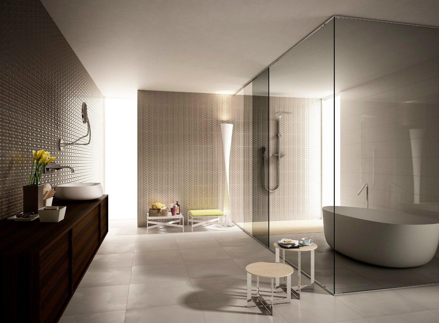 Imolaceramica presenta creative concrete anthea equilibri for Arredamenti da bagno