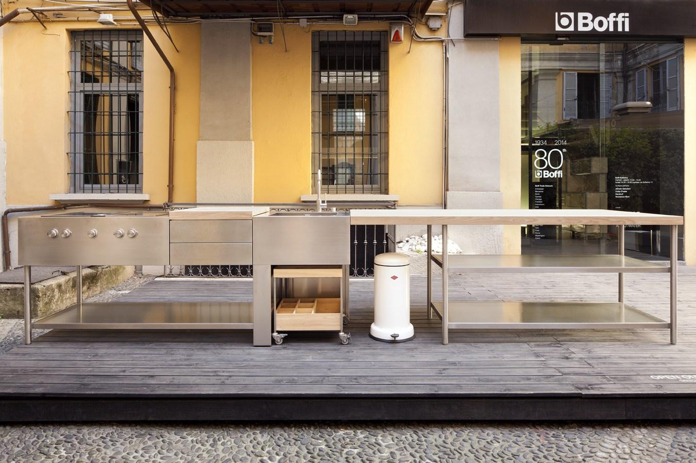 boffi al bologna water design con la cucina open. Black Bedroom Furniture Sets. Home Design Ideas