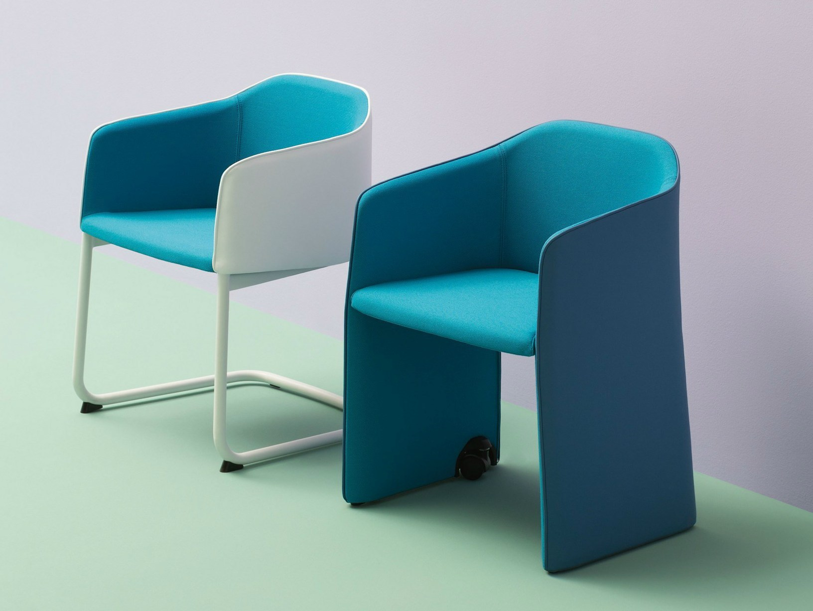 Flexible softness pedrali presenta le sedute imbottite for Avvolgere completamente intorno case di log portico