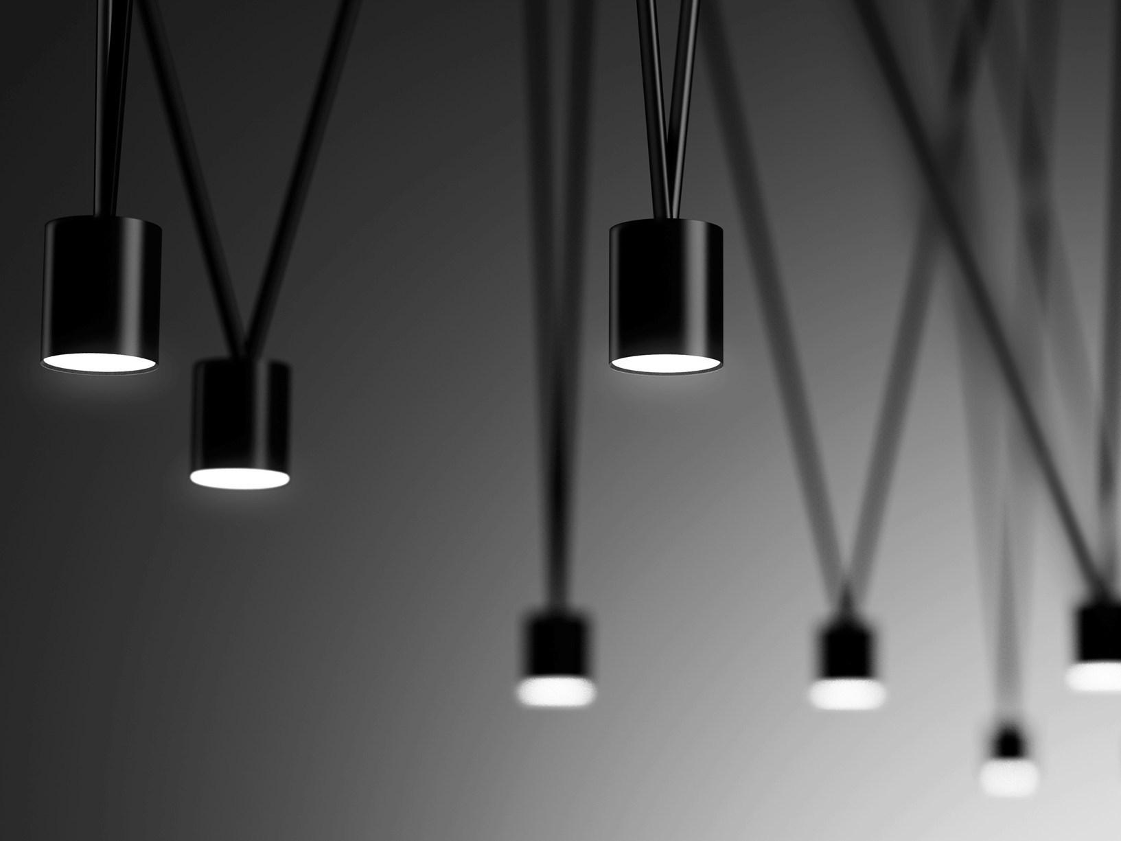 Scultura e illuminazione per spazi pieni di creativit - Illuminazione design interni ...