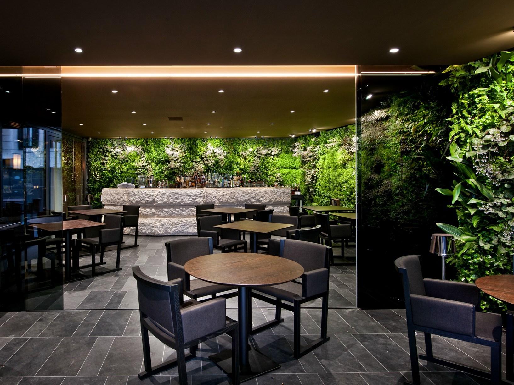 I sistemi helvar per il concept illuminotecnico di sushi b for Interior design agency milano