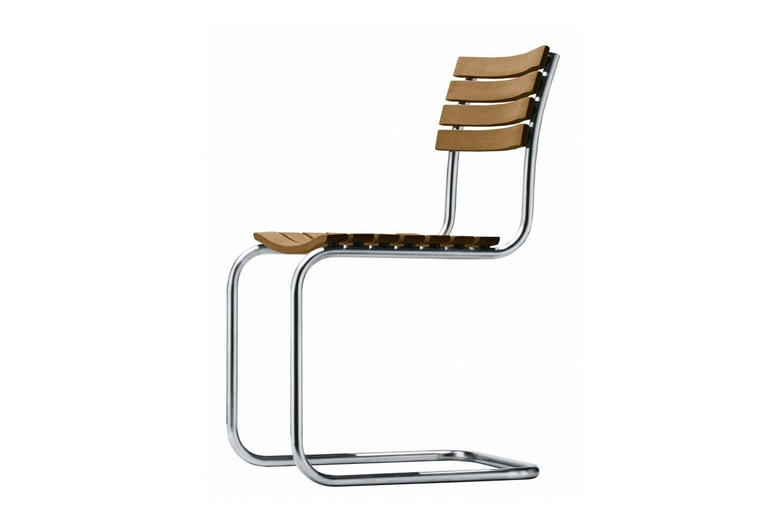 La sedia thonet s 40 firmata mart stam compie 80 anni for Sedia anni 40