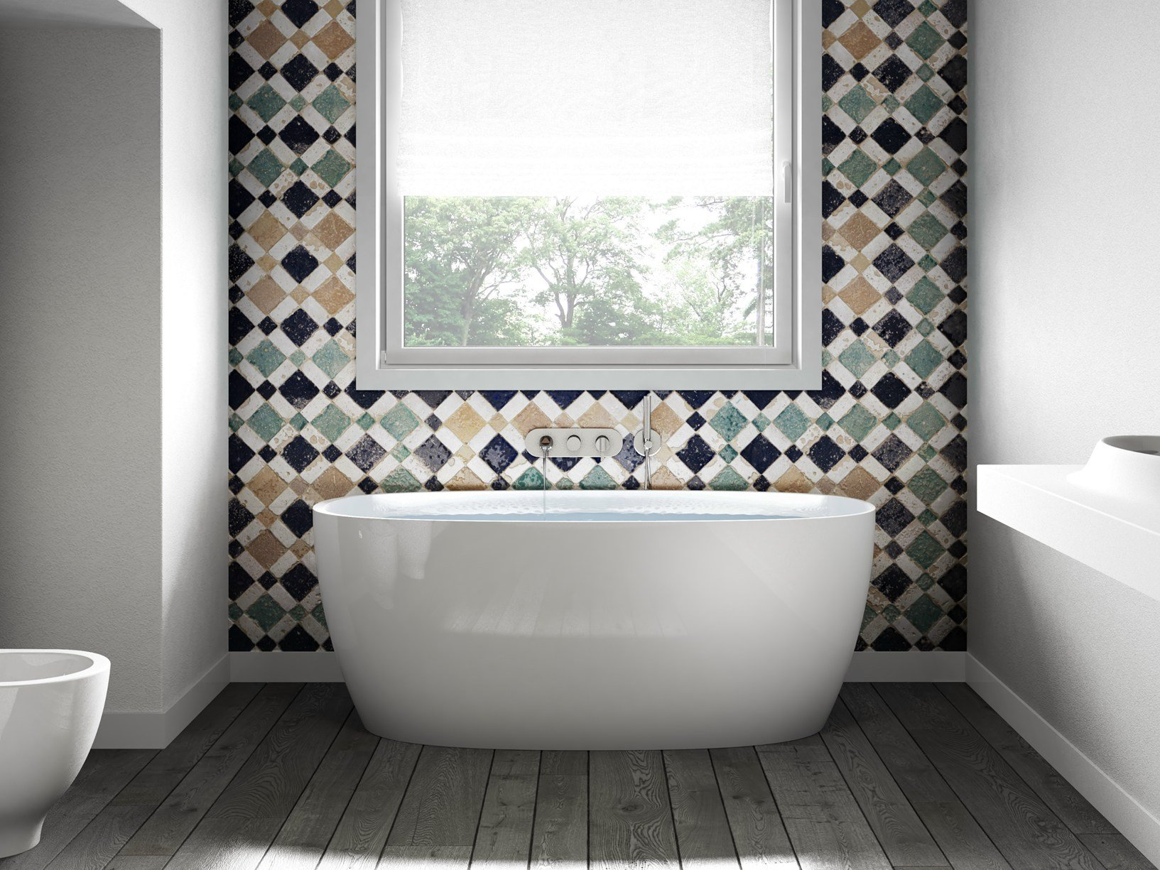 Le nuove vasche centro stanza jacuzzi - Vasche da bagno centro stanza ...